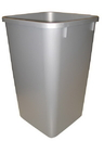 Rev-A-Shelf Replacement Waste Bin 27qt silver