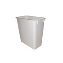 20Qt Waste Bin Only WHITE