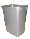 Rev-A-Shelf Replacement Waste Bin 35qt silver