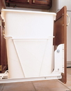 Rev-A-Shelf Door Mount Kit for White RV Series Pullout Waste Bins