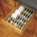 Rev-A-Shelf White Trimmable Spice Drawer Insert