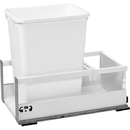 Rev-A-Shelf TWC Series with Blum TandemBox Slides and Servo Drive Single 35Qt Bin White