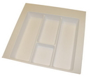 Utility Tray 21-7/8in W ALMOND