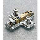 Salice 0mm Mounting Plate Euro Screw 1 Cam