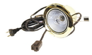 Specialty Lighting Clip Mount Can Light w/Switch Polished Brass