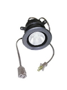 Specialty Lighting Halogen Ring Mount Can Light w/out Switch Polished Brass