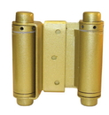 S Parker Heavy Duty Double Acting, Painted Brass Hinge