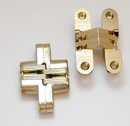 SOSS Satin Chrome Invisible Concealed Hinge for 1-1/8
