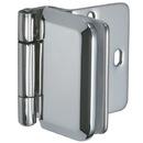 Sugatsune XLGH0348-8CR Stainless Steel Overlay Glass Door Hinge
