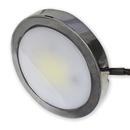 Tresco 3 watt LED Metal Pockit Spotlight Nickel