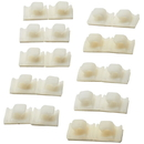 Tresco Wire Management Adhesive Clips Pack of 10