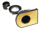 CompX Timberline Horizontal Glass Door Cam Lock Brass