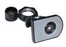 CompX Timberline Horizontal Glass Door Cam Lock Satin Nickel
