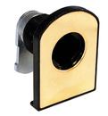 CompX Timberline Vertical Glass Door Cam Lock Brass