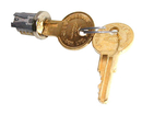 CompX Timberline Lock Plugs Polished Nickel Key # 109TA