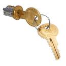 CompX Timberline Lock Plugs Polished Old English Key # 102TA