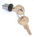 CompX Timberline Lock Plugs Black Key # 107TA