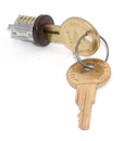 CompX Timberline Lock Plugs Polished Statuary Bronze Key # 102TA