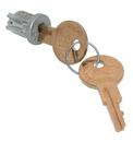 CompX Timberline Lock Plugs Polished Satin Nickel Key # 104TA