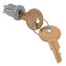 CompX Timberline Lock Plugs Polished Satin Nickel Key # 107TA