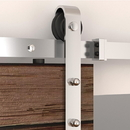 US Futaba Barn Door Surface Mount Stainless Steel