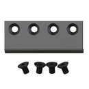 Flat Rail Connector Matte Black