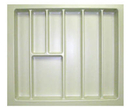 Vance Utensil Trim Fit Drawer Organizers 19
