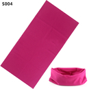 GOGO Durable Neck Gaiter - Versatile Sport Bandanna Headwear Scarf, Solid Color Multi-functional Dew rag