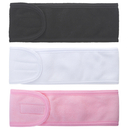 GOGO 3 PACK Facial Headbands Make Up Head Wrap Terry Cloth Headband with Tape