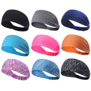 GOGO 9 Pack Women Yoga Headbands, Athletic Head Scarf Bandana Assorted Colors