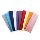 GOGO 12PCS Solid Color Headbands for Sports and Fashion