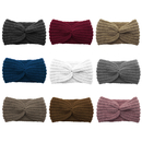 GOGO 9 PACK Knitted Headbands Criss Cross Head Wrap Ear Warmer (9 Colors)