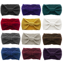 GOGO 12 PACK Knit Bow Headbands Crochet Turban Head Wrap Headband (12 Colors)