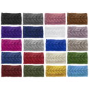 GOGO 20 PACK Knit Headbands, Braided Crochet Head Wraps for Women Girls Various Colors
