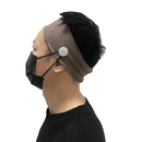 GOGO Unisex Button Headband Face Mask Holder Non Slip Nurse Hair Band Ear Protection