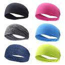 GOGO Sports Hairbands for Men and Women, Wide Elastic Headband, Workout Moisture Wicking Sweatband