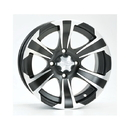 MTA 12SS700 ITP SS312 - 12x7 4/110 5+2 F/R Wheel Machined/Black