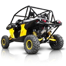 HMF HMF-C1M-D HMF Dual Slip-On Exhaust for Can-Am Maverick 1000 (See Apps)