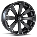 Moto Alliance MA-2004737 MSA Kore 14x7 4/137 F/R Wheel - Flat Black (+0 offset 3.5/3.5)