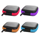 Aspire Square Carrying Cases Earphone Bluetooth Cable Storage Bag, Set of 4, 3