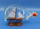 Handcrafted Model Ships America-Bottle America Sailboat in a Bottle 7