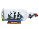 Handcrafted Model Ships Amity-Bottle-11 Thomas Tew'S Amity Model Ship In A Glass Bottle 11&Quot;