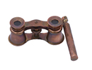 Handcrafted Model Ships BI-0325-AC Scout's Antique Copper Binocular With Handle 4