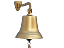 Handcrafted Model Ships BL-2050-11AN Antique Brass Hanging Ship's Bell 15