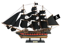 Handcrafted Model Ships Black-Pearl-26-Black-Sails Wooden Black Pearl Black Sails Limited Model Pirate Ship 26