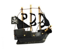 Handcrafted Model Ships Black-Pearl-4-Magnet Black Pearl Pirates Of The Caribbean Pirate Ship Model Magnet 4&Quot;