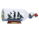 Handcrafted Model Ships Black-Pearl-Bottle-11 Black Pearl Model Ship In A Glass Bottle 11&Quot;