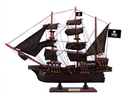Handcrafted Model Ships Caribbean-Pirate-Black-Sails-15 Wooden Caribbean Pirate Black Sails Model Ship 15
