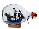 Handcrafted Model Ships Charles-Bottle-7 John Halsey'S Charles Pirate Ship In A Glass Bottle 7&Quot;