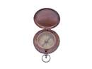Handcrafted Model Ships CO-0601-BZ Bronzed Captains Push Button Compass 3